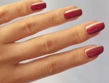 Kombination aus Silber und Rot
